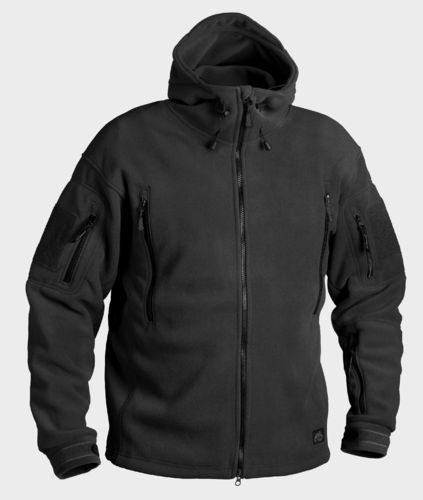 Helikon-Tex® PATRIOT Fleecejacke - Heavy Fleece - Schwarz -