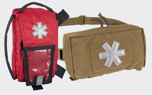 Helikon-Tex® - MODULAR INDIVIDUAL MED KIT® Pouch - Cordura - Coyote ®- 1. Hilfe