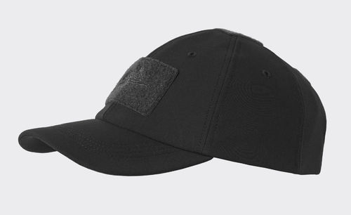 Basecap - BBC - WINTER - Shark Skin - Schwarz