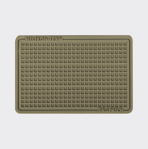 Helikon-Tex® - Tag Patch - ID-Patch - 60 x 40 mm - PVC - Coyote
