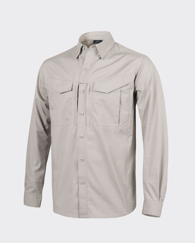 Hemd - DEFENDER Mk2 long sleeve® - PolyCotton Ripstop - Khaki