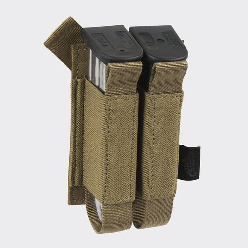 Helikon-Tex® - Double Pistol Magazine Insert® - Poliester Coyote