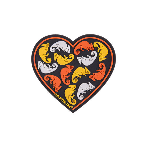 "Helikon-Tex® - Morale Patch - ""Heart"" - PVC - Farbig"