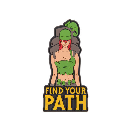 "Helikon-Tex® - Morale Patch - ""Find Your Path"" - PVC - Farbig"