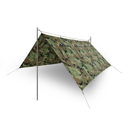 Helikon-Tex® SUPERTARP - Polyester Ripstop - US Woodland