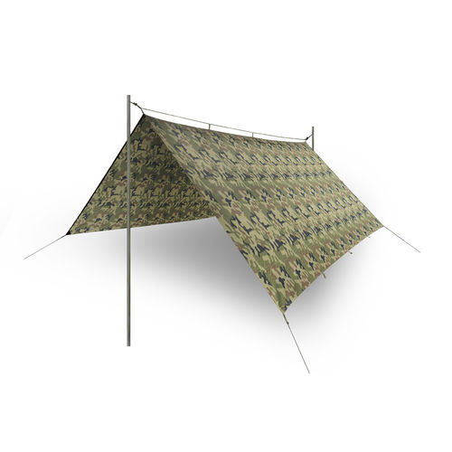Helikon-Tex® SUPERTARP - Polyester Ripstop - PL Woodland