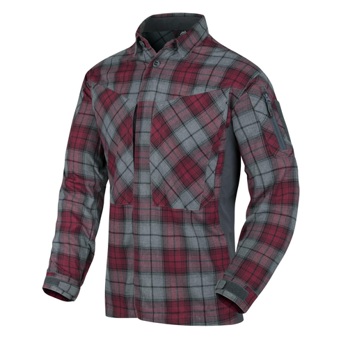 Helikon-Tex® - Flanell Hemd - Shirt - MBDU Flannel® - Ruby Plaid