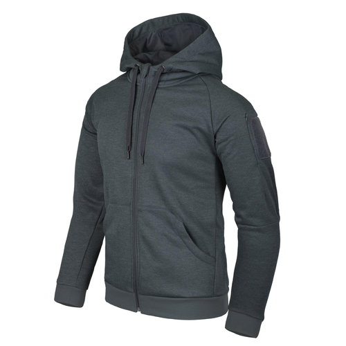 Helikon-Tex®  Urban Tactical Hoodie (FullZip)® - Melange Black-Grey -