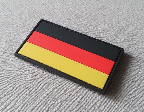 JTG Deutschland Flagge Patch, fullcolor, klein / JTG 3D Rubber Patch